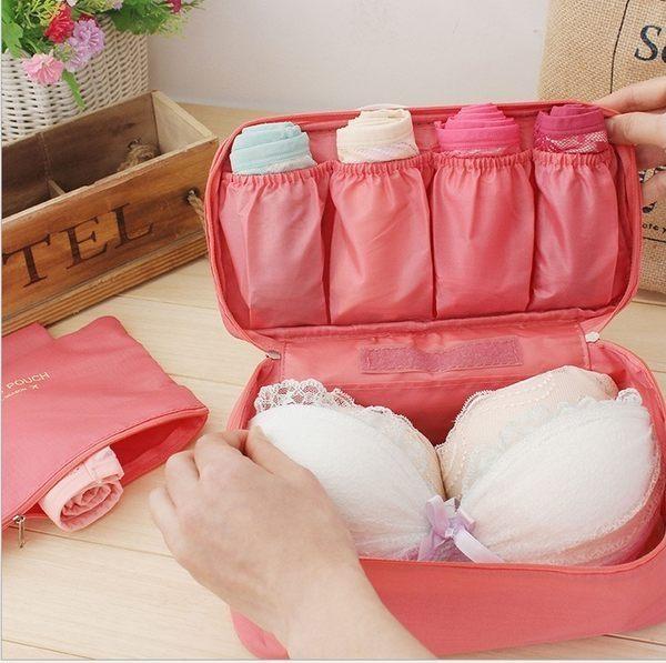 韓國第二代 多功能旅行 內衣內褲整理包 手提式旅行袋 內衣收納包 旅行收納包 ♚MY COLOR♚【Y16】