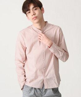 府綢襯衫粉紅