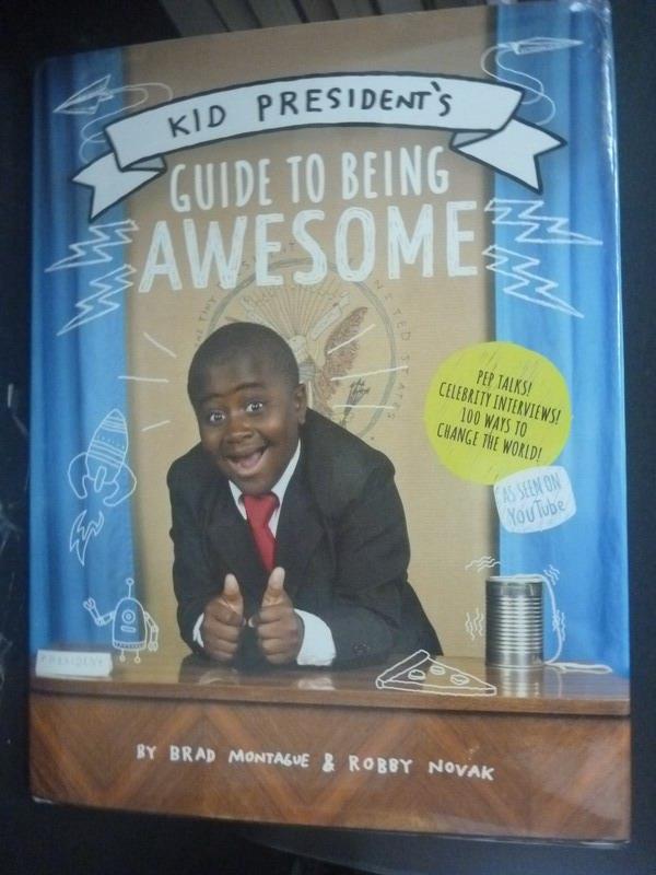 【書寶二手書T7/親子_YDX】Kid President's Guide to Being Awesome_Monta