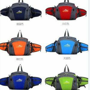 美麗大街【BK022110Q1】多功能防水帆布包 單車背包 腰包 休閒包
