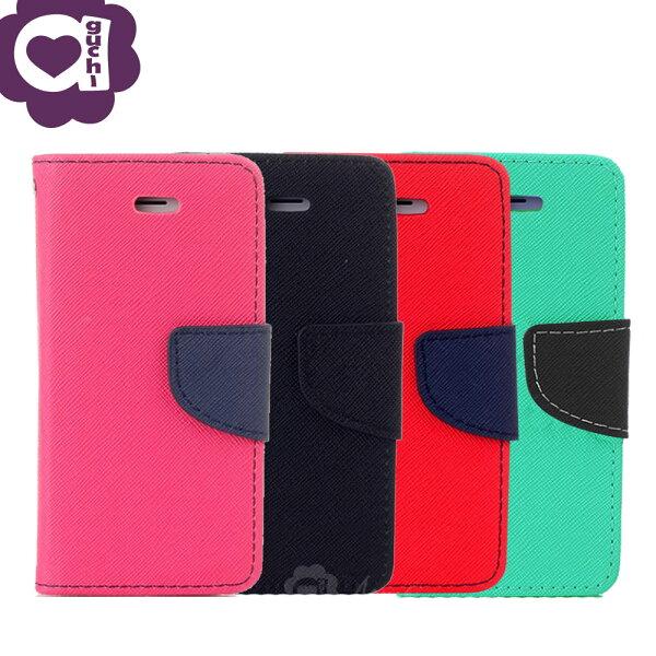 ASUSZenFone4MaxZC554KL馬卡龍雙色側掀手機皮套磁吸扣帶支架式皮套桃黑紅綠多色可選
