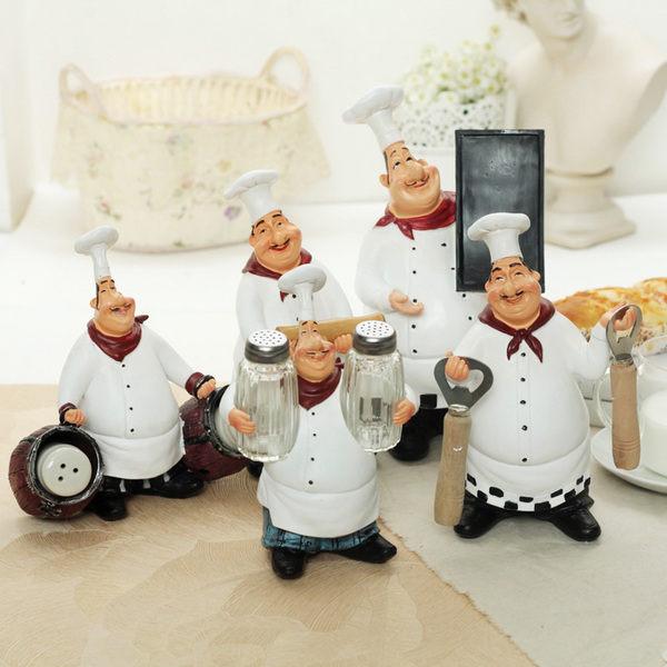 可愛創意家居擺件(廚師系列)創意禮物家居擺設工藝品