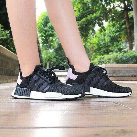 buy popular e30f8 9136f Kumo Shoes-現貨Adidas NMD Original R1 W 粉紅 粉色 黑粉 黑色 B37649