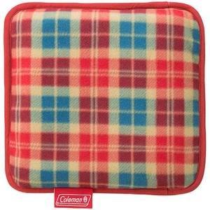 ├登山樂┤美國 Coleman 刷毛毯 (紅格紋) 抱枕毯 車用毯 # CM-21167
