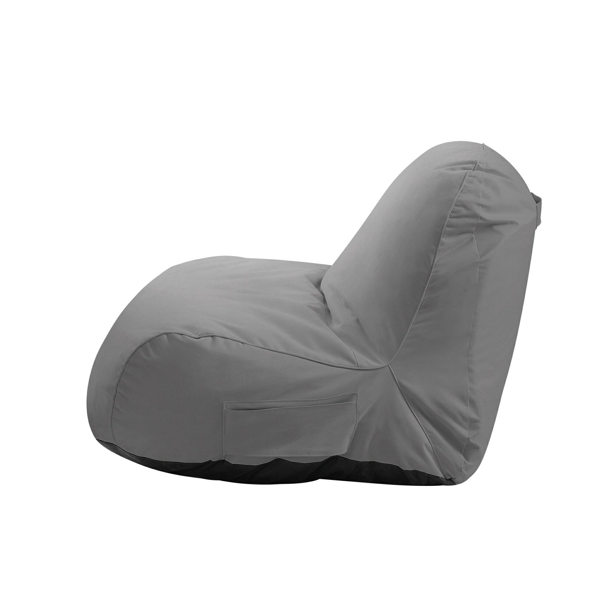 Cosmic Foam Lounge Chair Nylon Indoor Outdoor Self Expanding Water Resistant Loungie
