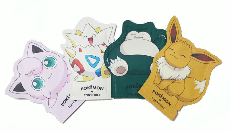 Tonymoly&Pokemon寶可夢聯名柔嫩護手霜 旅行試用包小樣試用品 神奇寶貝 胖丁波克比卡比獸依布