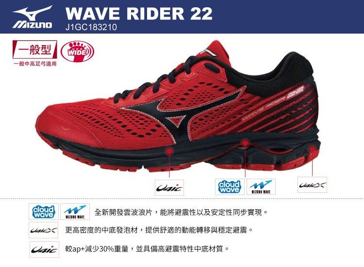 mizuno wave rider 22 gtx 2.5