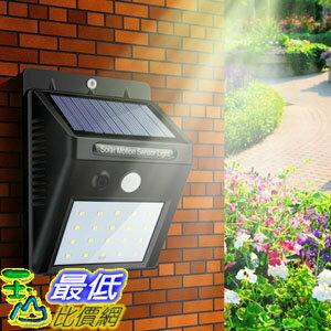 107玉山最低 網  太陽能防水自動感應燈 Waterproof 20 LED Sola