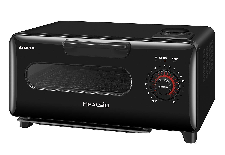日本公司貨 黑色 SHARP AX-H1 水波爐 蒸氣烤箱 吐司烤箱 溫度控制 蒸氣 四種菜單模式 三段火力 烤吐司