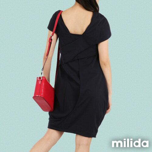【Milida,全店七折免運】-春夏商品-造型款-甜美花苞洋裝 2
