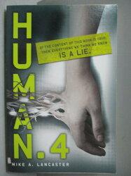 【書寶二手書T4/原文小說_OHO】Human.4_Mike A. Lancaster