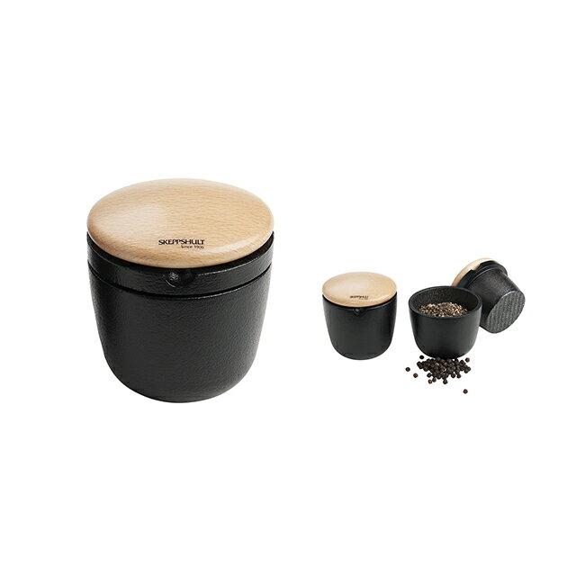 Skeppshult Spice accesoires-Swing 鑄鐵胡椒香料研磨及儲存罐