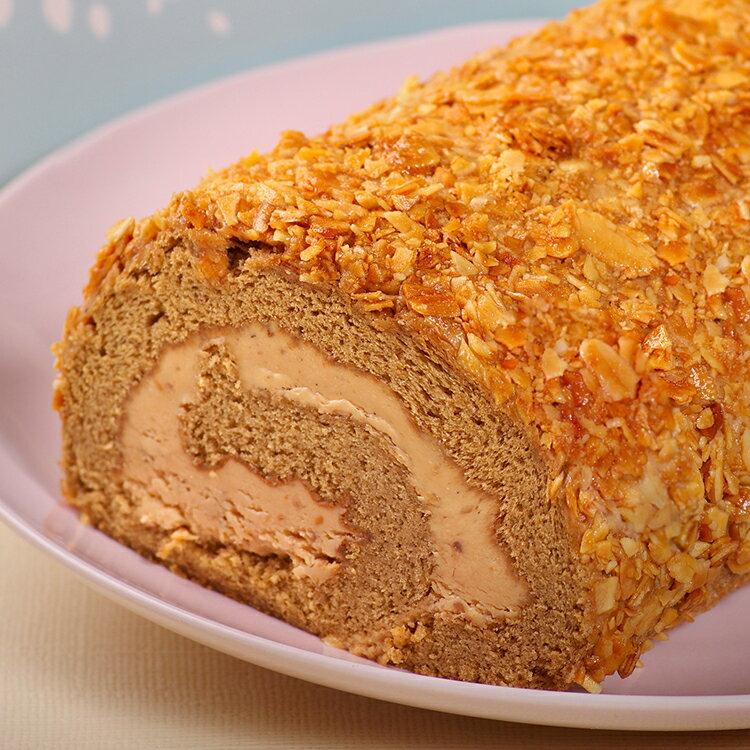 焦糖核桃咖啡捲  法朋常溫蛋糕捲  核桃堅果甜點 ~  好康折扣