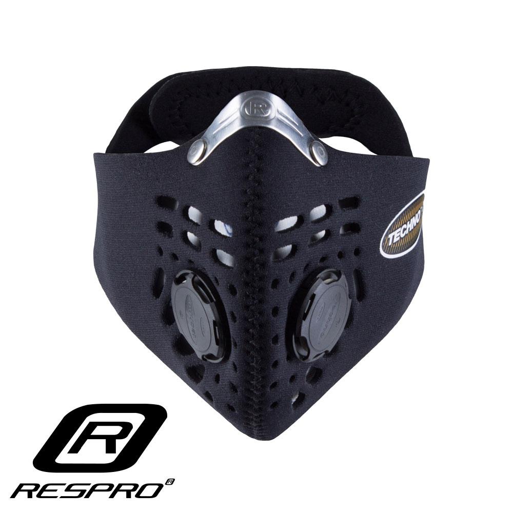 英國 RESPRO TECHNO 防霾競速騎士口罩(黑色 )