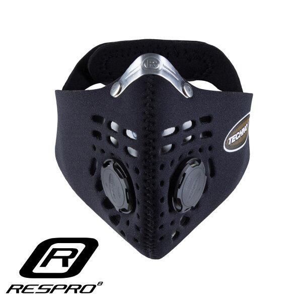 英國RESPROTECHNO防霾競速騎士口罩(黑色)