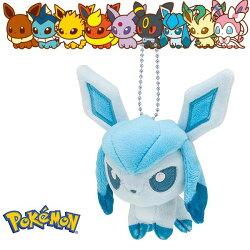 冰伊布 冰精靈 娃娃吊飾 玩偶 Q版 Pokemon 寶可夢 神奇寶貝 日本正品 該該貝比日本精品 ☆