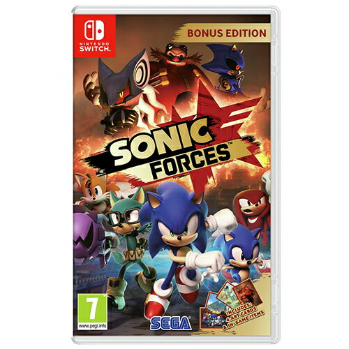 NS 任天堂 Nintendo Switch SONIC FORCES 音速小子 武力 中文版【三井3C】