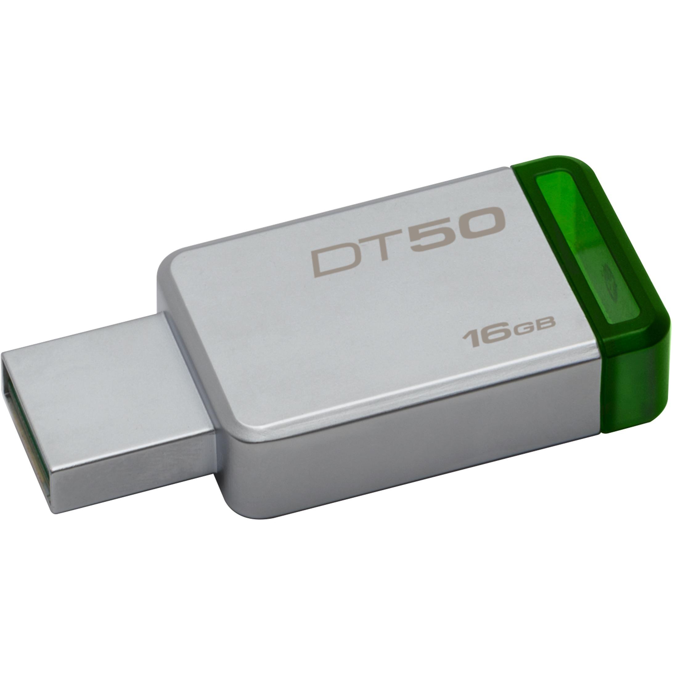 Kingston 16GB DataTraveler 50 16G DT50 USB 3.1 Gen 1 USB 3.0 30MB/s Flash Pen Thumb Drive DT50/16GB 0
