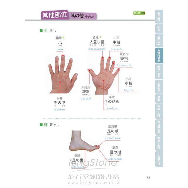 用日本小孩的方法記單字:圖解單字+聽力,不用背就能學好日文單字!!(附日語、中文對照MP3) 8