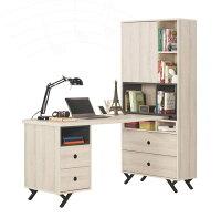 L型書桌/電腦桌/辦公桌推薦推薦到【簡單家具】,G371-1 優娜5尺L型四抽書桌,大台北都會區免運費!就在簡單時尚家具生活館推薦L型書桌/電腦桌/辦公桌推薦