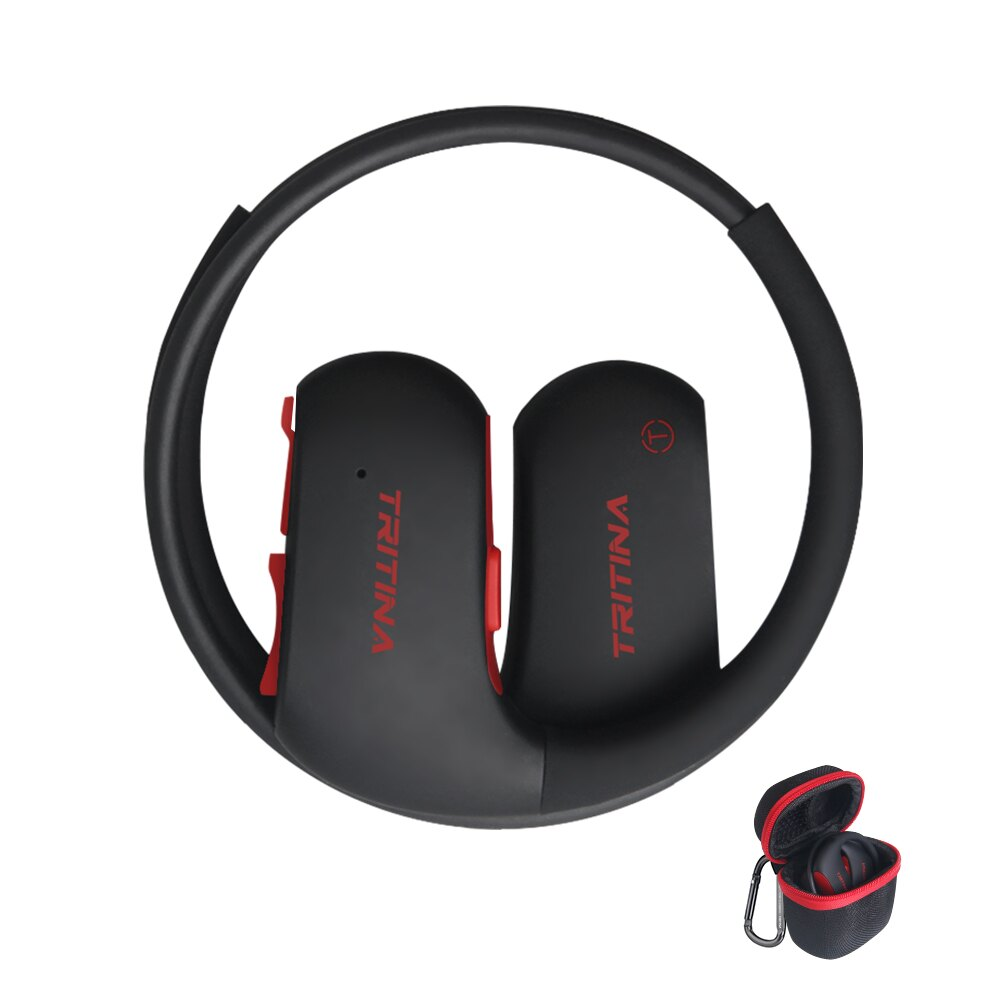 bf48d5322b8 Tritina Bluetooth Earbud Headphones Waterproof - Designed for Sports  Comfort & Secure Fit - Sweat Resistant