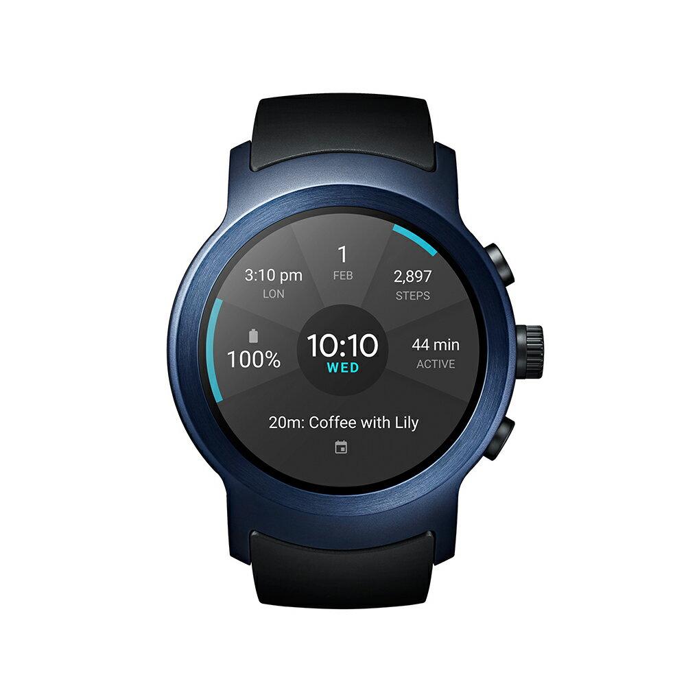 LG Watch Sport W281 智慧手錶  (支援Nano SIM卡、可通話) 藍色