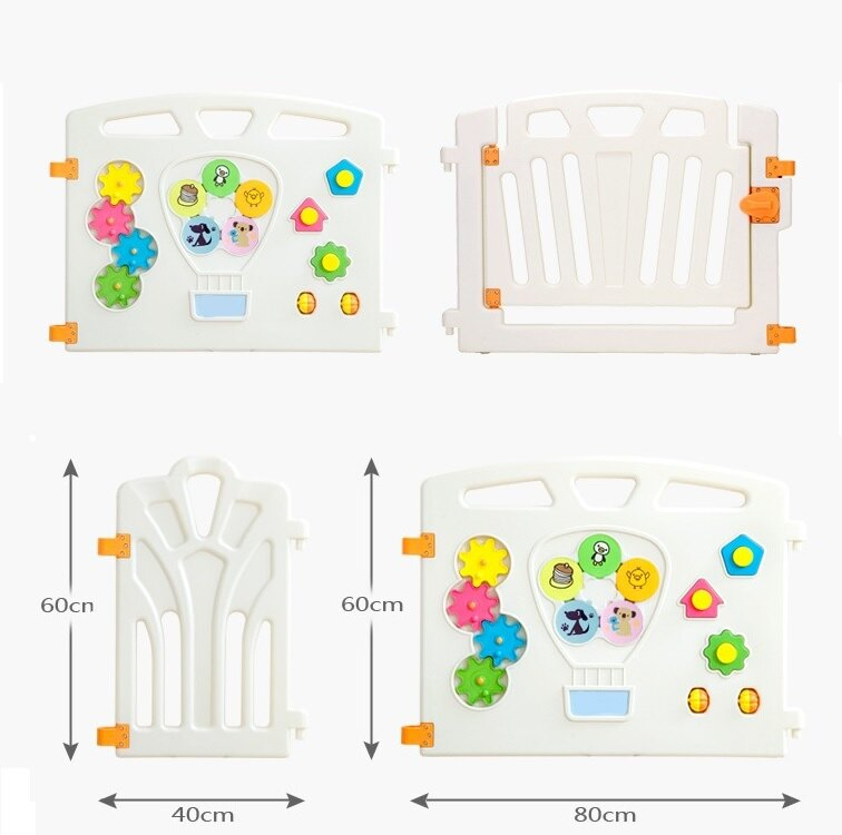 麻麻乖寶貝 ST認證 兒童圍欄 遊戲圍欄 護欄 柵欄 門欄 遊戲池 10片 (8小+2大)