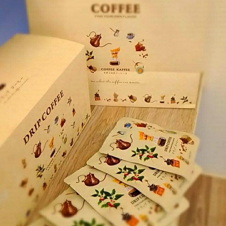 (五十山咖啡) 五星級下午茶豆~濾掛式/掛包式咖啡 ~禮盒裝20入