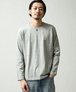 長袖T恤GRAY