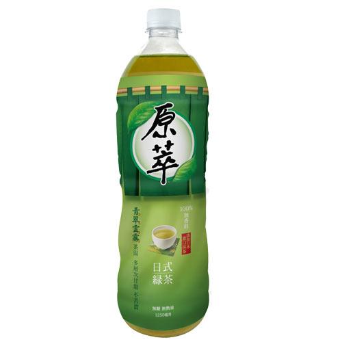 原萃日式綠茶1250ml【愛買】
