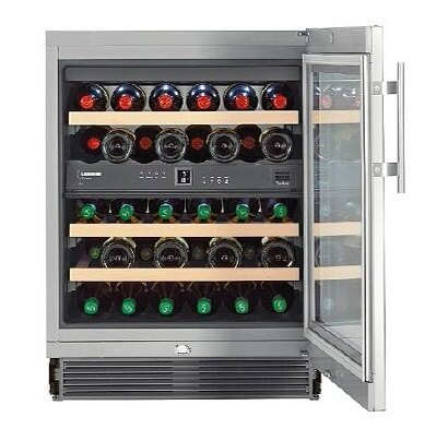 嘉儀 LIEBHERR 利勃 UWTes1672 嵌入式雙溫酒櫃(期貨)【零利率】※熱線07-7428010