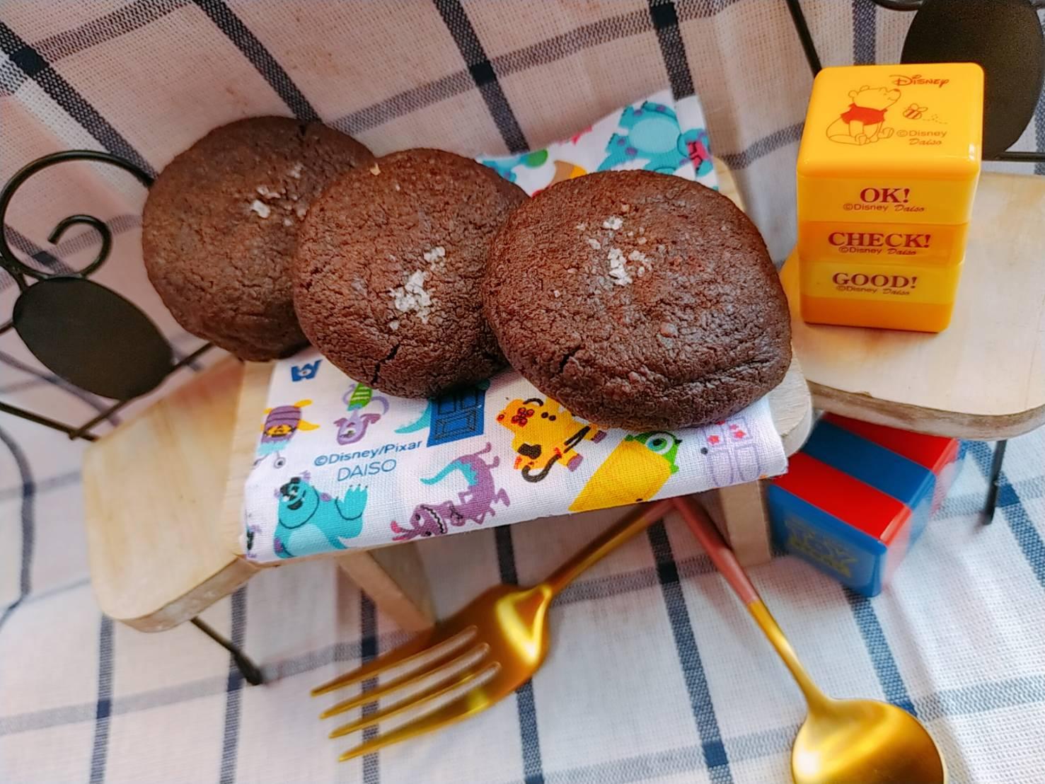 鹽之花巧克力餅乾120g