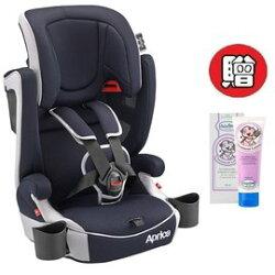 【+贈貝恩嬰兒水漾保濕調理乳液】愛普力卡 Aprica- Air Groove 限定版 成長型輔助汽車安全座椅(汽座)(藍色颶風) 6225元