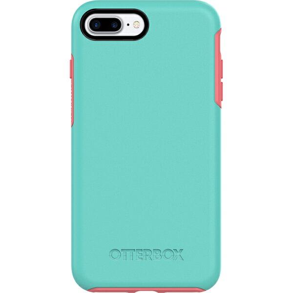 貝殼嚴選:【貝殼】OtterBoxSymmetrySeries炫彩幾何iPhone8PlusiPhone7Plus手機殼防摔殼-綠粉