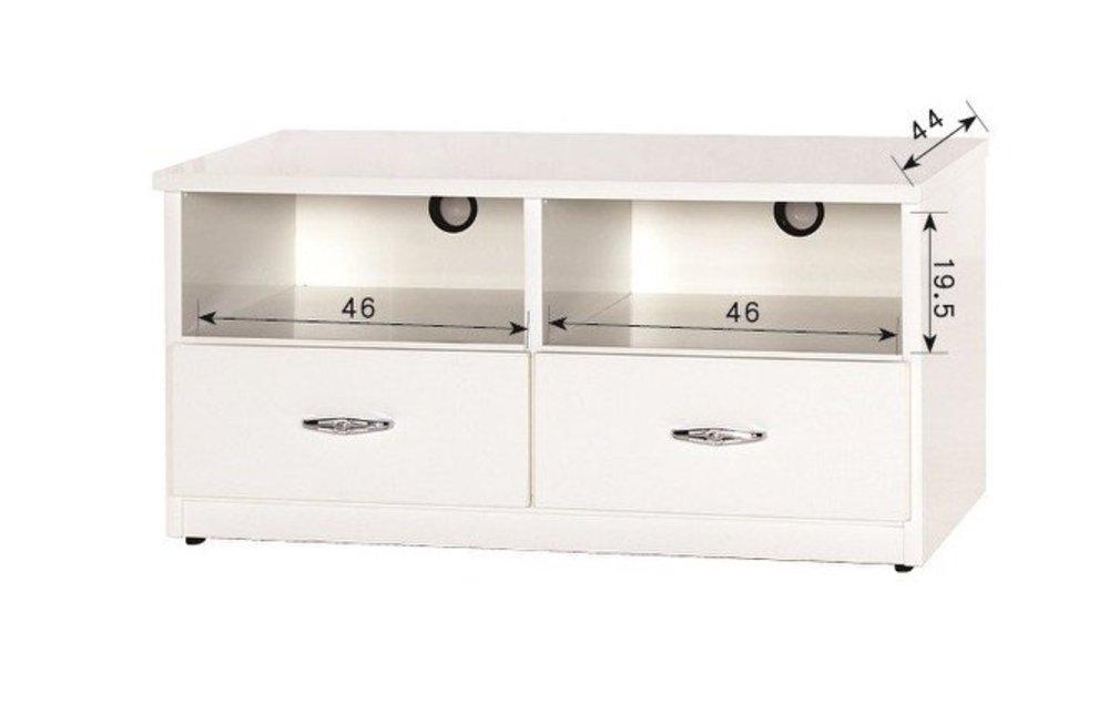 【石川家居】843-01 (3.3尺白色)電視櫃 (CT-212) #訂製預購款式 #環保塑鋼P 無毒/防霉/易清潔