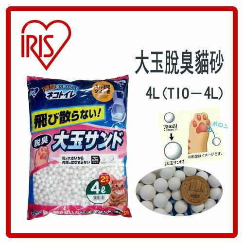【盤點出清】IRIS-大玉脫臭貓砂-4L-TIO-4L-特價310元>限2包內可超取(G092E03)