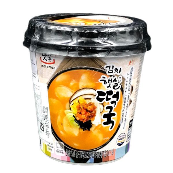 韓國MATAMUN韓式泡菜年糕湯(78g)【庫奇小舖】