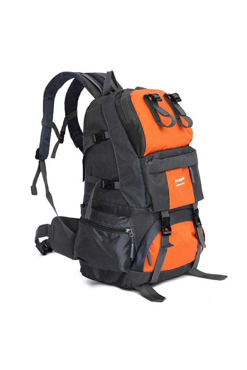 【FREEKNIGHT】50L 大容量休閒登山背包/運動後背包(橘) FK218OG