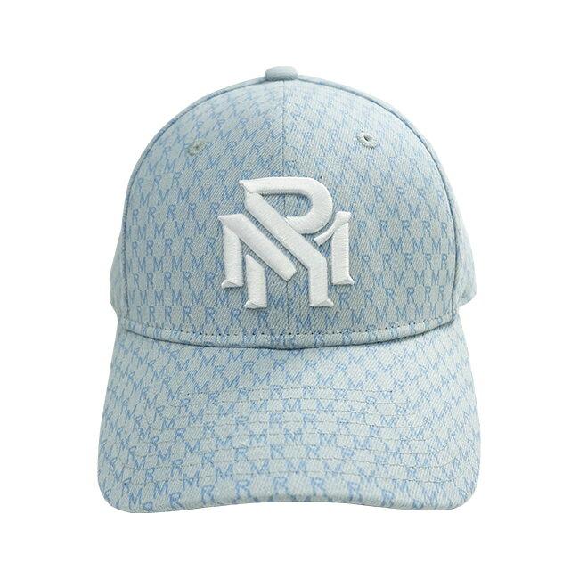 RM滿版花紋老帽-藍 3