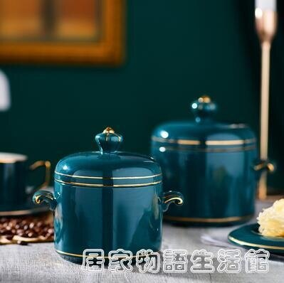 陶瓷燉盅帶蓋蒸燉罐湯盅家用燕窩隔水燉煲湯內膽壹人多人份燉碗 特惠九折