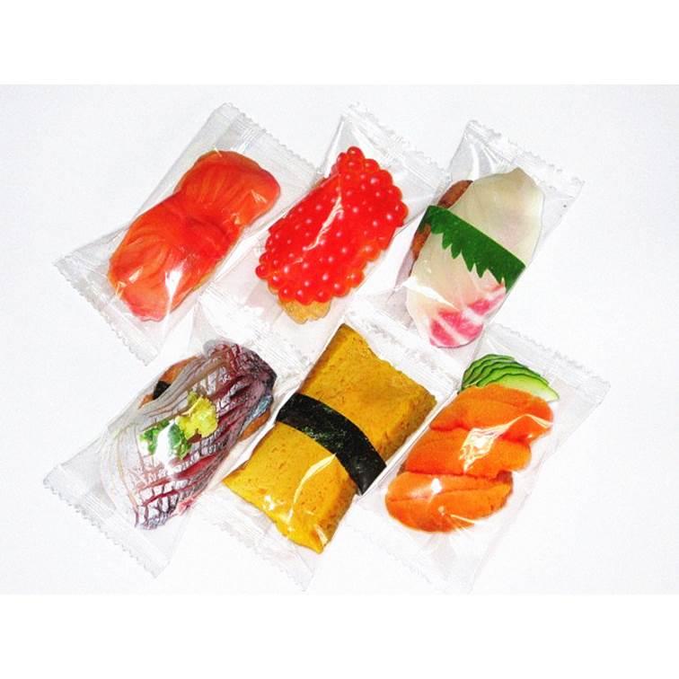 【NEWEST】壽司型醬油米果綜合包 200g 約50-55個 日本進口仙貝 3.18-4 / 7店休 暫停出貨 1