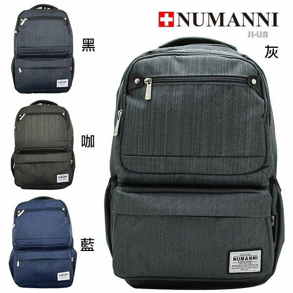 76- 6001【NUMANNI 奴曼尼】商務流線型功能性電腦後背包 (四色)
