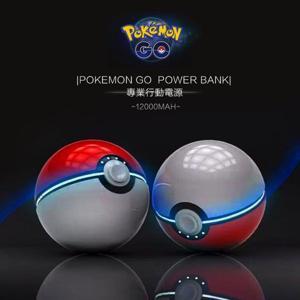 [免運出清] 第二代 Pokemon GO 精靈寶可夢行動電源 寶貝球行動電源 12000mAh