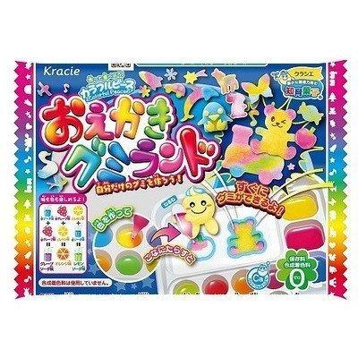 知育果子 手作系列 快樂DIY畫畫軟糖樂園動物造型糖