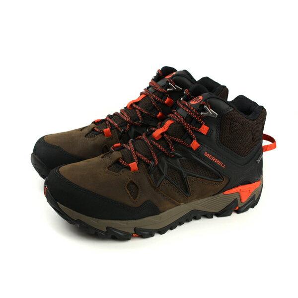 MERRELL ALL OUT BLAZE 2 MID GTX Gore-tex 防水 運動鞋 健行 深咖啡色 男鞋 ML09389 no865