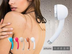 『免運點數倍數送』【全日本製】天音Amane極細省水高壓淋浴蓮蓬頭(白色、米白、藍色、粉色)