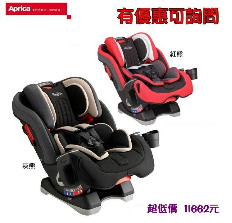 *美馨兒*美國GRACO-MILESTONE 0-12歲長效型安全座椅(2色可選)11662元+來電或來店另有贈)