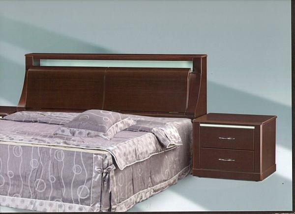 【尚品家具】308-01 艾奇胡桃現代2尺床頭櫃/收納櫃~台灣製造