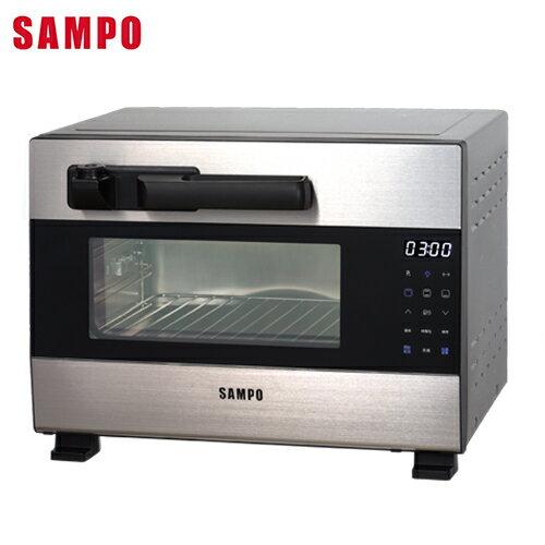 聲寶 28L壓力電烤箱KZ-BA28P【愛買】