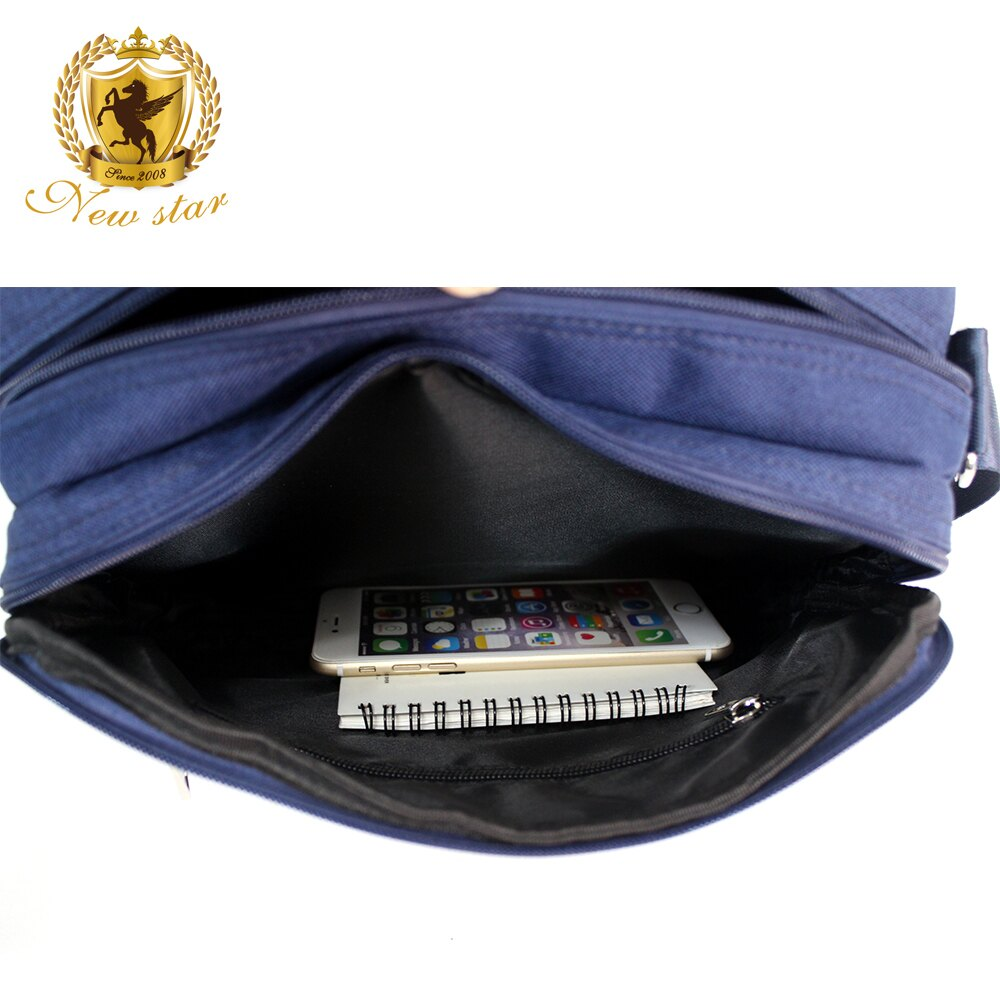 經典雙口袋雙層側背包 (日系 防水 機能 斜背包  NEW STAR BL133 3